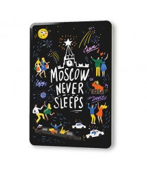 """Magnet """"Moscow never sleeps"""""""